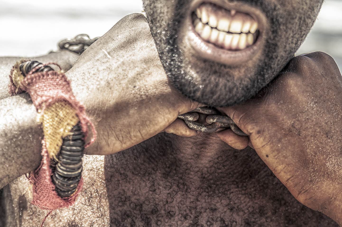 Lakwarel, esclavage