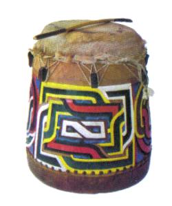 Le gaandoon utilisé par les Bushinenge (Guyane)