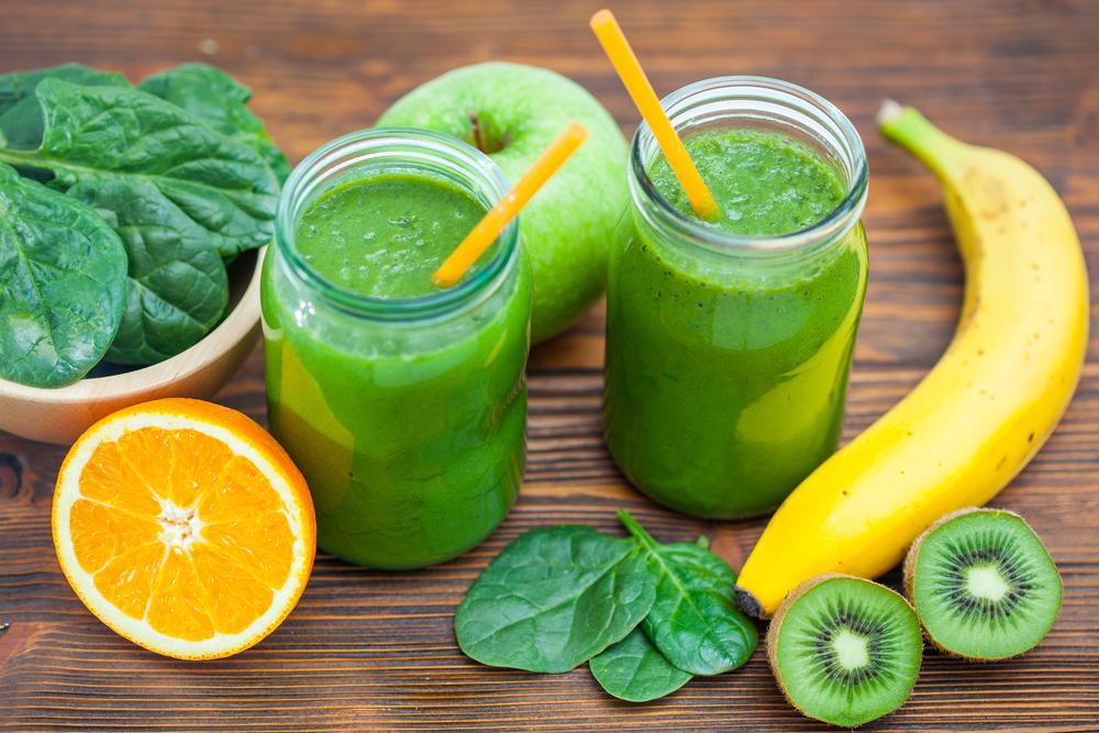 Le smoothie vert ou green smoothie